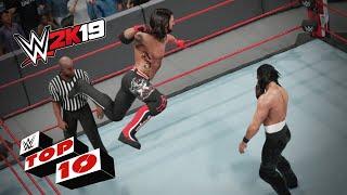 Shocking Springboard Maneuvers: WWE 2K19 Top 10