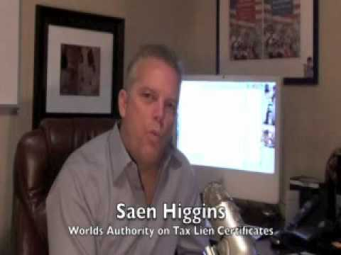 Wealth Without Risk founder on Indiana County tax lien certificate sale