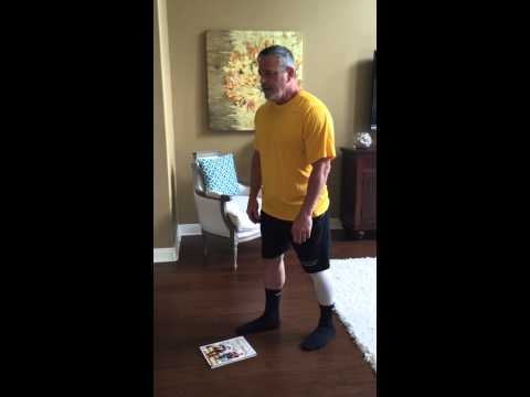 How to properly bend over to pick up something after Hip Replacement Surgery.