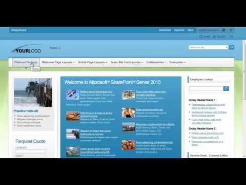 SharePoint 2013 Theme - Adjusting Colors