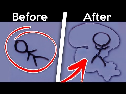 HOW TO Make Water *MAGIC* Stickman (COMES TO LIFE!!!) 😱