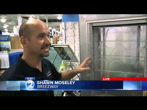 Breezway Louver Window Interview with KHON at BIA Expo Hawaii