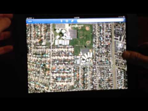 Google Earth On iPad For Real Estate