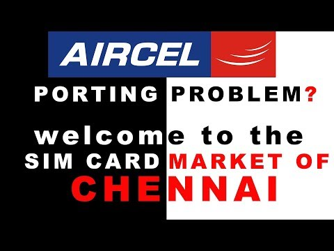 How and From Where to Change/ Port  AIRCEL NETWORK ?