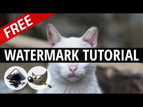 How To Make Logo/Icon Watermarks for Videos