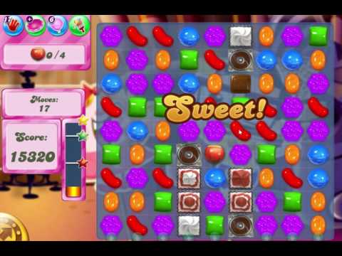 Candy Crush Saga Level 517 Bring all ingredients down to the bottom!