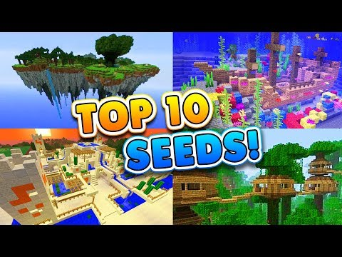 TOP 10 BEST SEEDS for Minecraft 1.4! (Pocket Edition, PS4, Xbox, Switch, PC)