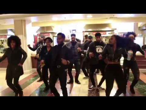 Walking back into Black Panther movie like