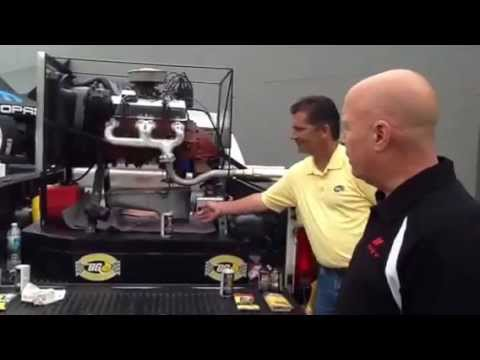 B. G. Products Big Bubba engine oil demonstration