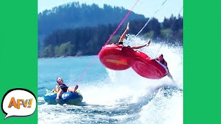 FLYING Into the FAIL! 😂 | Best Water Fails | AFV 2021