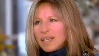 Barbra Streisand 1997 with James Brolin by Barbara Walters