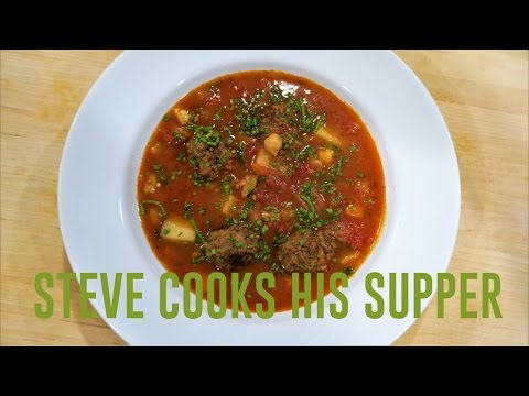 DELICIOUS MEATBALL SOUP | Steve's Suppers