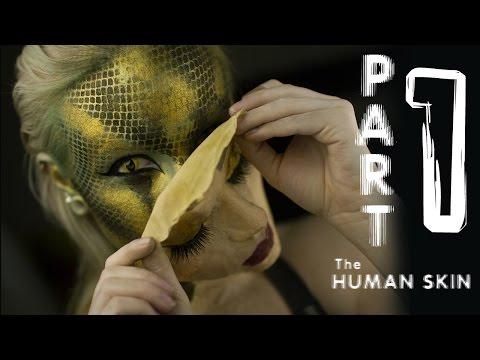 Shedding Snake / Human Makeup Tutorial (part 1)