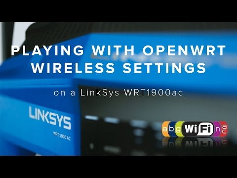 Playing with OpenWrt Wireless Settings