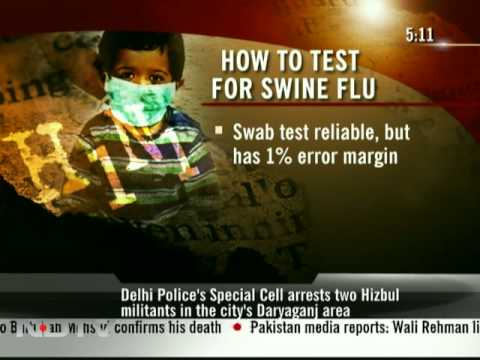 How to test for swine flu