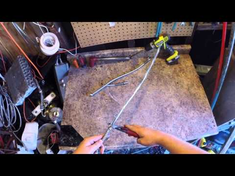 striping the copper out of aluminum bx cable