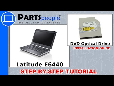 Dell Latitude E6440 DVD Optical Drive How-To Video Tutorial