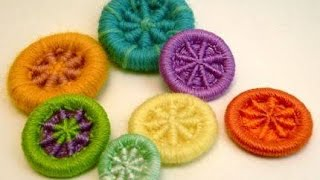 DIY - Crafts : How to Make Dorset Buttons .