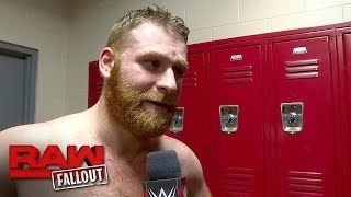 Sami Zayn looks ahead to his massive Royal Rumble Match opportunity: Raw Fallout, Jan. 23, 2..