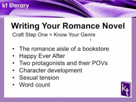 PREVIEW - Writing and Querying Your Romance Novel, Part1