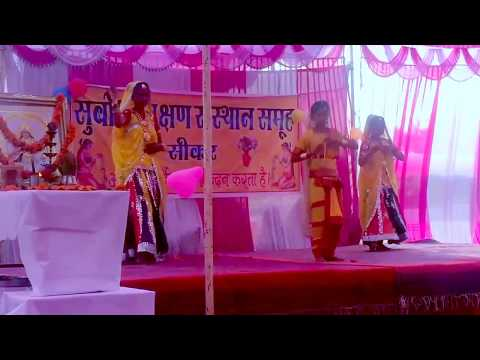 Welcome Song Presentation by Girls