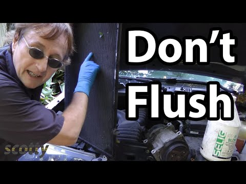 Why Flushing AC Systems Doesn't Work