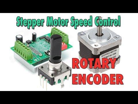 Stepper Motor Speed Control with Rotary Encoder - Arduino Tutorial