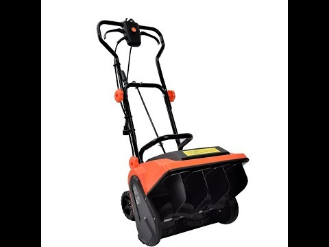 Review:  EJWOX Electric Snow Thrower, 9 Amp 16-Inch Corded Snow Blower