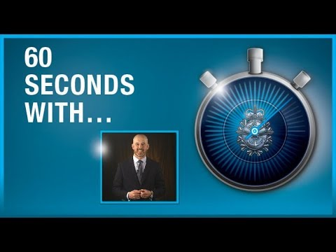 60 Seconds With Stephen Burt, Assistant Chief of Defence Intelligence
