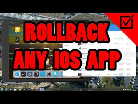 ✅How to roll back IOS Apps to previous versions