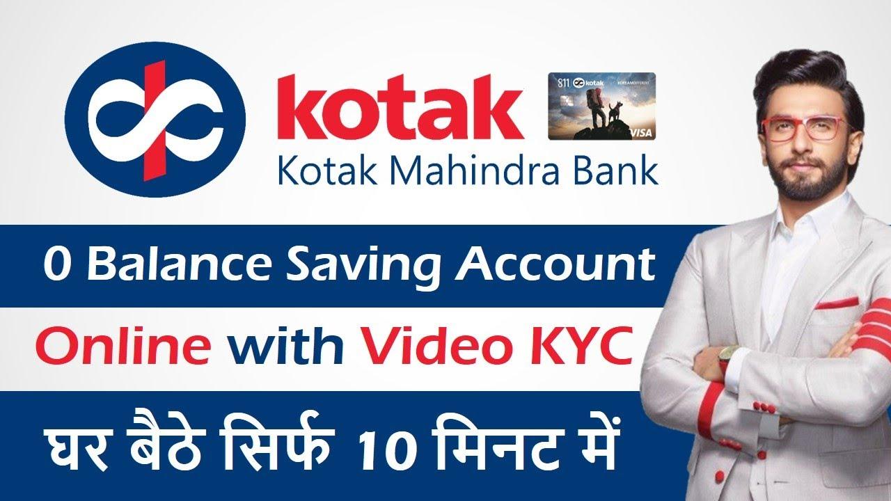 Download Kotak Mahindra Bank Zero Balance Account Opening - Kotak 811 bank account opening online MP3 Gratis