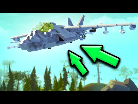 FASTEST JET MOD IN THE GAME! (Scrap Mechanic)