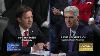 Sasse Asks Gorsuch: What If We Didn