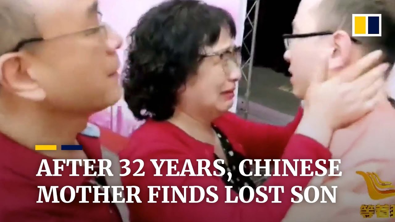 After 32 years, Chinese mother is finally reunited with her kidnapped son