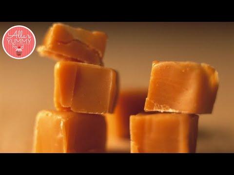 Russian Toffee Recipe | Ириски в домашних условиях food how to make toffee dessert