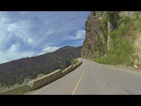 British Columbia Motorcycle Ride:  Princeton to Tulameen