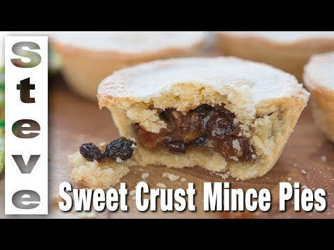 MINCE PIE RECIPE -  With a Sweet Short Crust Pastry