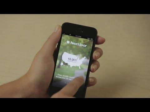 Using an app to keep neighborhoods safe