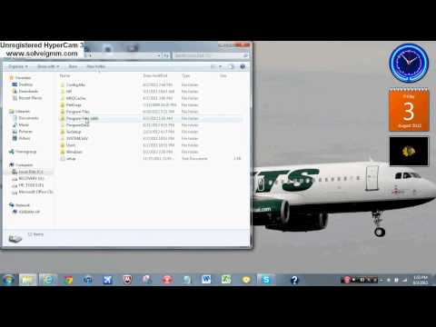 How To Get An FS2004 Plane To Work With FSX