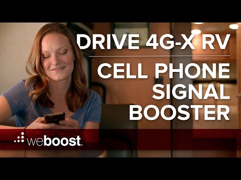Drive 4G-X RV - Cell Phone Signal Booster for your RV   weBoost