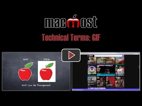 Technical Terms: GIF (MacMost #1833)