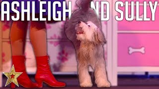 ADORABLE Audition By Ashleigh And Sully ASTOUNDS Judges On BGT: The Champions!   Got Talent Global