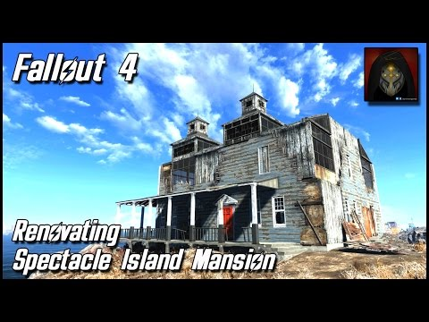 Fallout 4 - Spectacle Island Settlement - Repairing the House