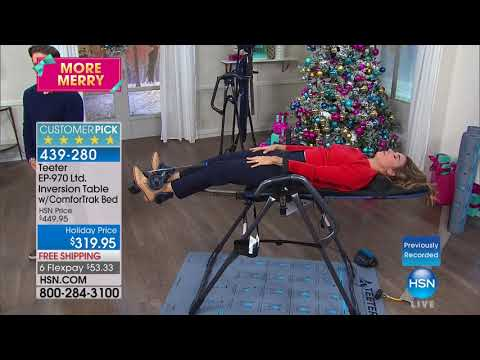 HSN | Teeter Inversion Fitness Solution 11.12.2017 - 07 AM