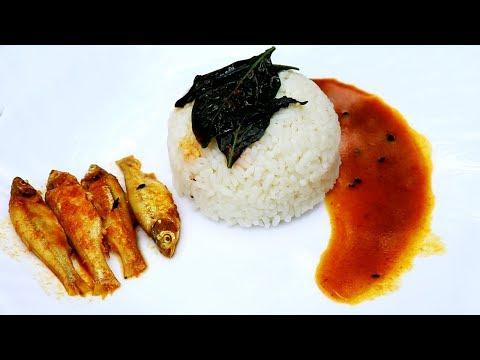 Lanka Pata & Moye Macher Jhol | Chili Leaf & Fish Curry Recipe | Bangali Style Fish Curry Recipe
