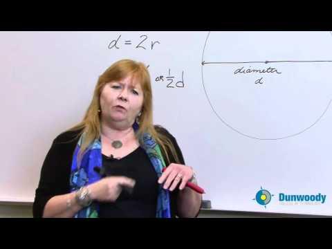 Circles Part 1- Understanding Pi, Diameter, Radius and Circumference - Eeris Fritz
