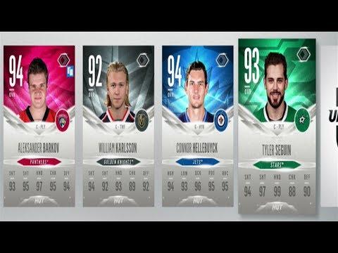 NHL 18 EVOLUTION CHOICE PACKS - 95+ PULL - HUT CHAMPIONS REWARDS