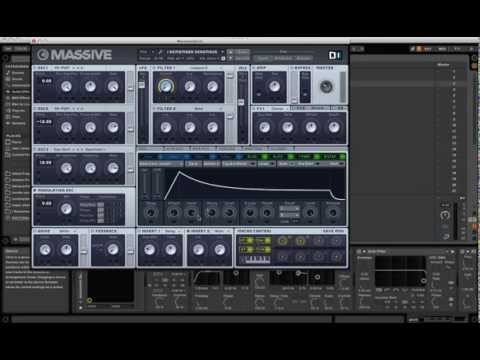 Deadmau5 - I Remember synth patch massive/ableton