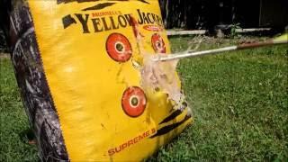 Bow Practice Marsh Rat Style