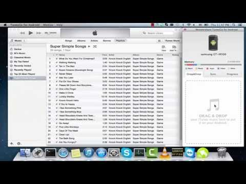 Transfer/Sync iTunes to Android (Music, Movies, Playlists, Videos, Podcast, TV Shows, iTunes U)